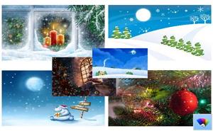 Christmas theme windows8