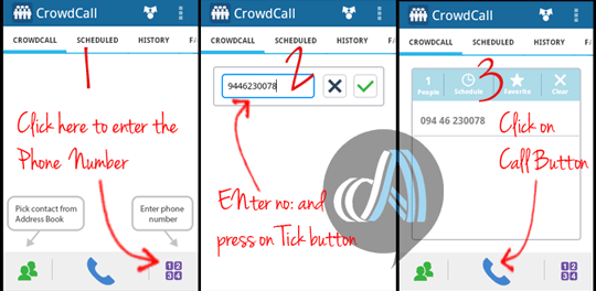 Crowd-call-using-BlueStack
