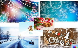 christmas and new year themes for windows 8