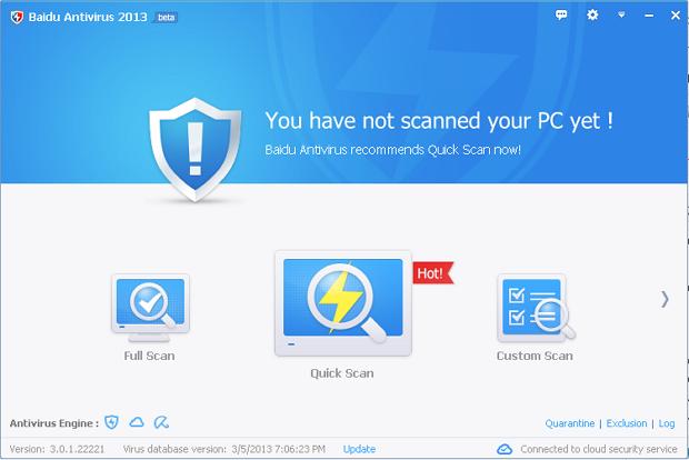 baidu antivirus 2013 download free
