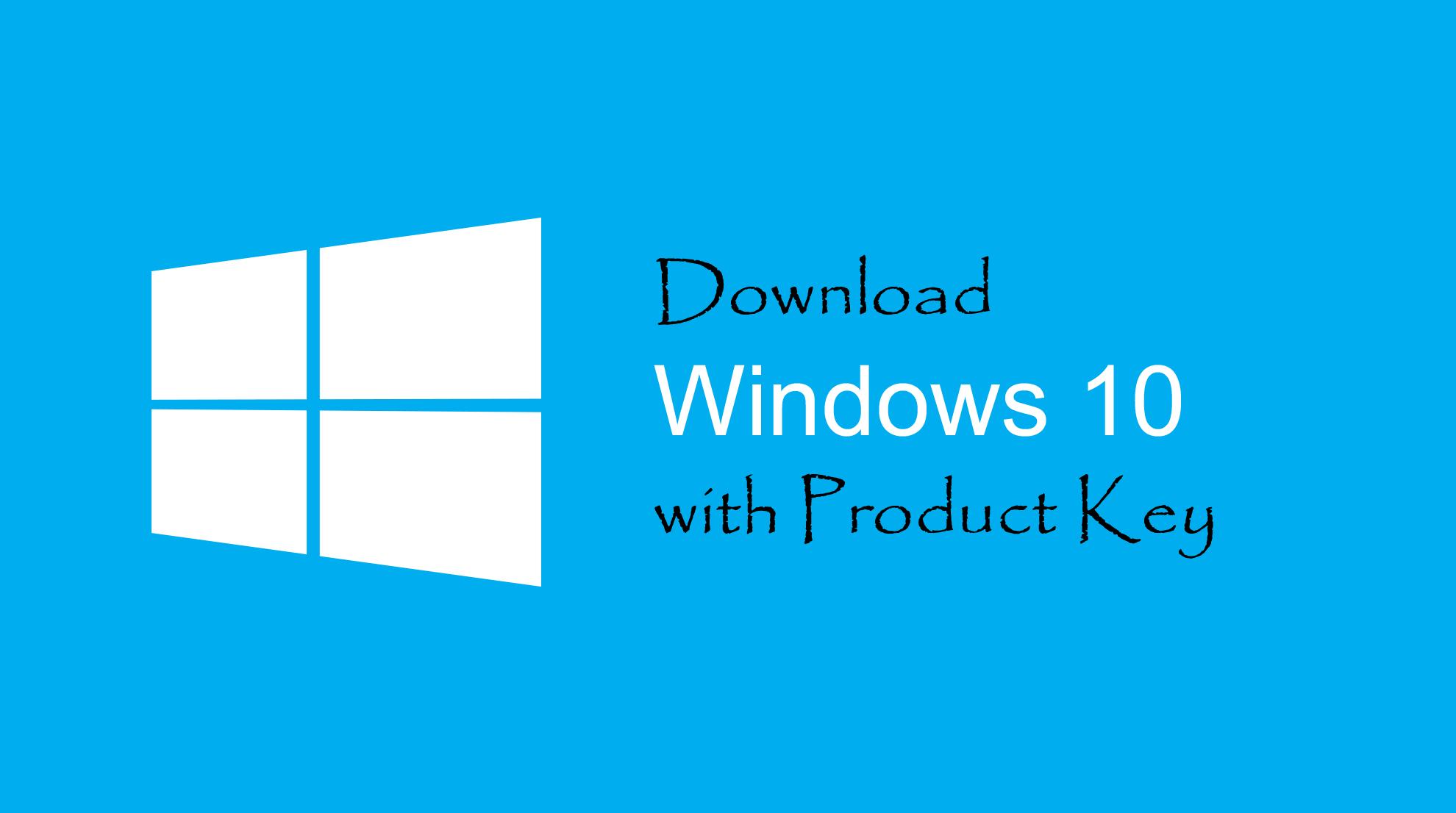 download-windows-10-key