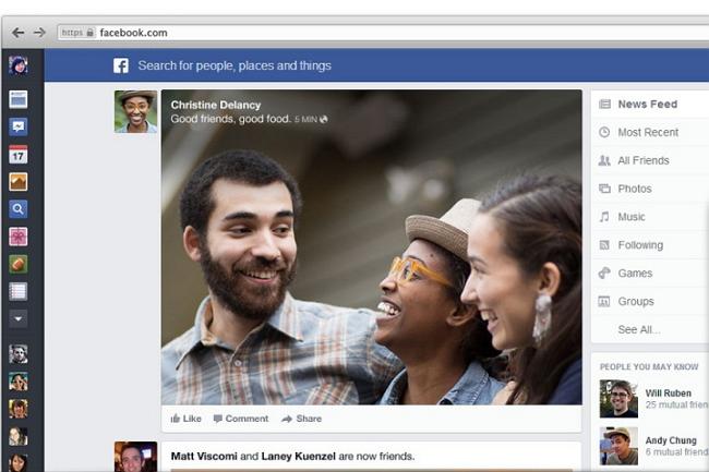 facebook new newsfeed