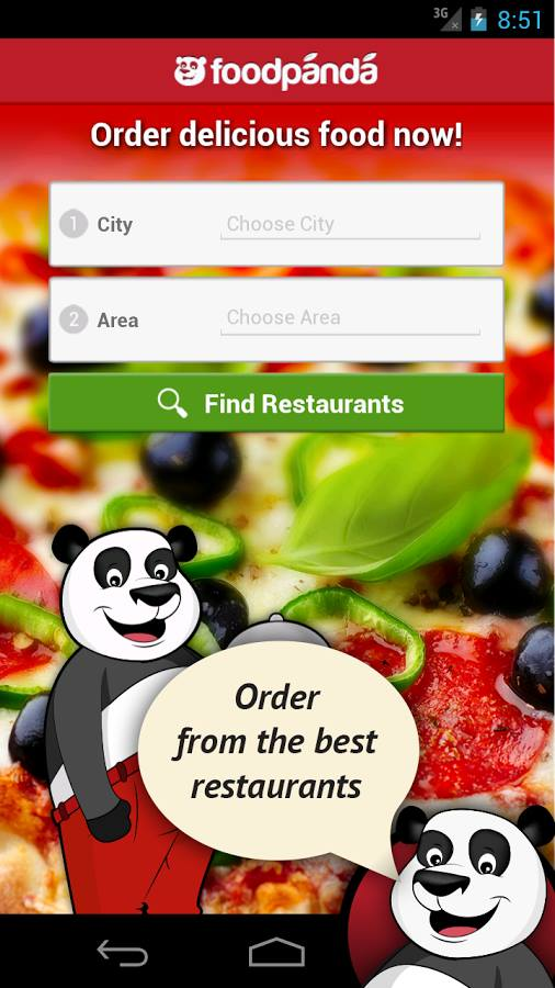 food panda android app