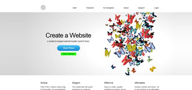 imcreator free website creator