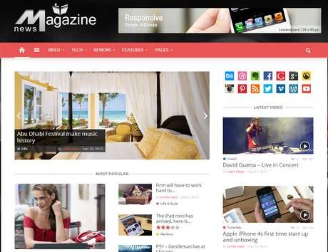 magazinly responsive theme