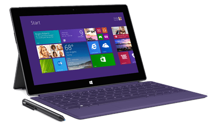 surface pro 2 purple