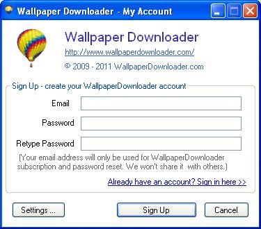 bulk wallpaper downloader bing