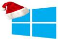 windows 8 Christmas logo